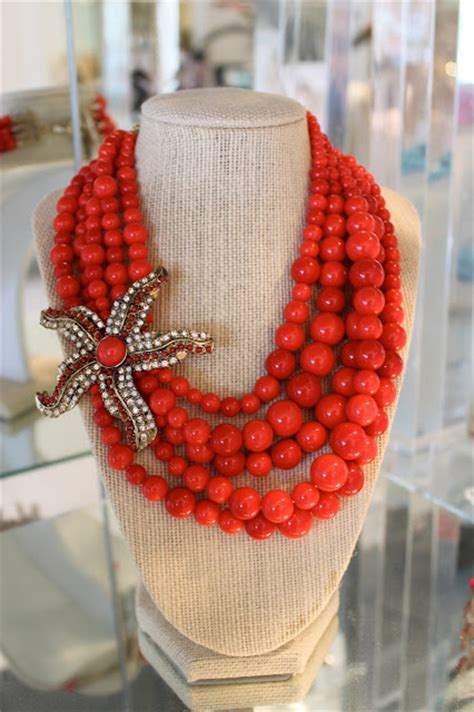 Website Of The Week Starfish by Sequin Of The Week Beaded Starfish Necklace