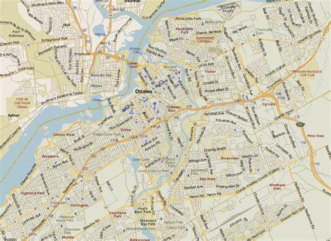 ottawa ontario canada map ottawa map ontario listings canada