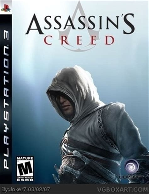 Bd Ps3 2nd Assasins Creed 3 assassin s creed playstation 3 box cover by joker7