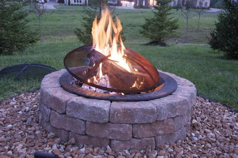 building fire pit in backyard how to build an outdoor firepit the polkadot chair