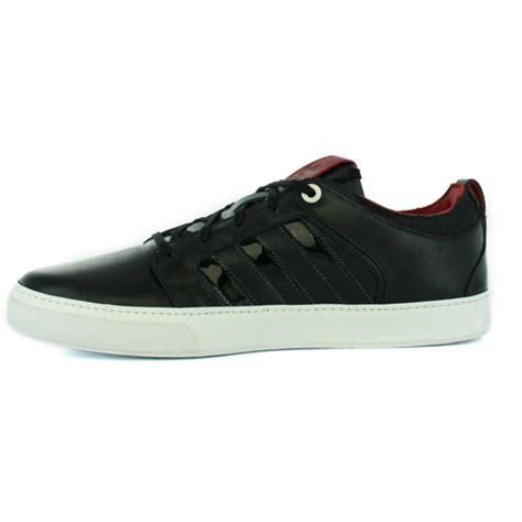 adidas vespa px 2 lo black leather mens trainers shoes ebay
