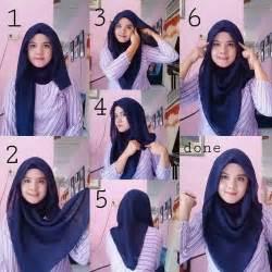 tutorial hijab segi empat 25 best ideas about tutorial hijab terbaru on pinterest