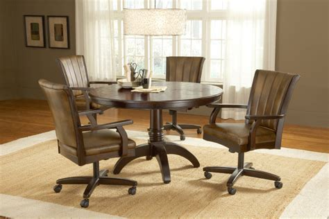 dining room chairs on wheels elegant dining room chairs with wheels plushemisphere