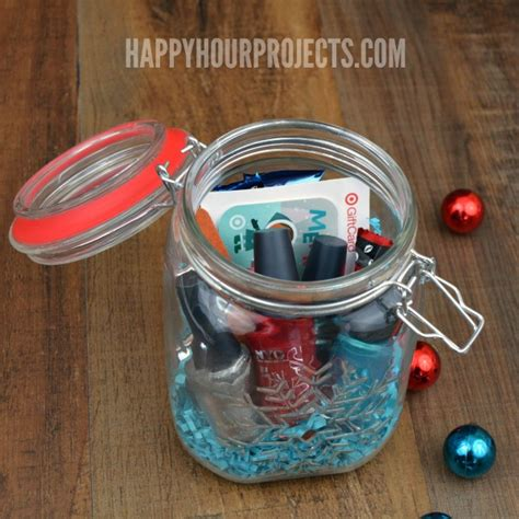 How To Give Gift Cards - creative ways to give a gift card the mason jar gift happy hour projects