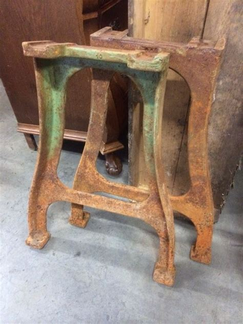 iron table legs for sale vintage industrial cast iron table legs 949