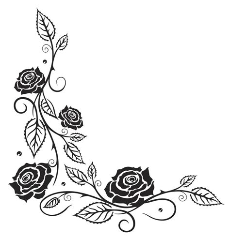elegant rose tattoo vine tattoos that will pull at your