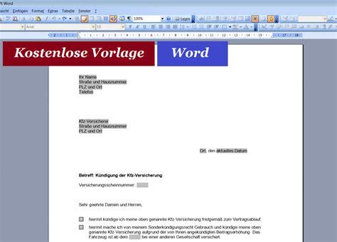 Word Vorlage K Ndigung Mietvertrag word convictorius part 5
