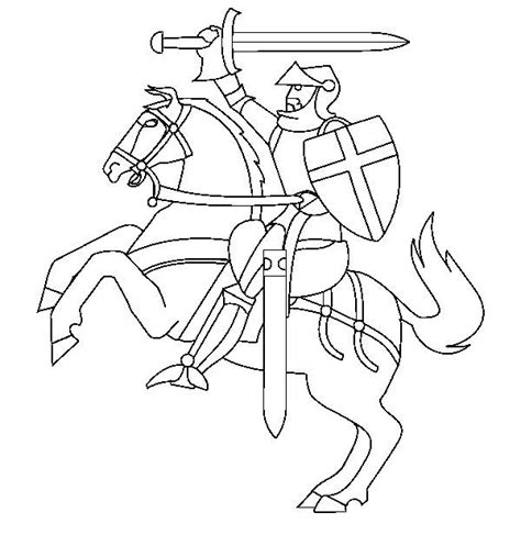 knight sword coloring page 17 best images about castles and knights on pinterest