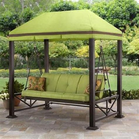 Outdoor Patio Gazebo Swing Gazebo Outdoor Covered Patio Deck Porch Garden Canopy 3 Patio Swing Canopy Schwep