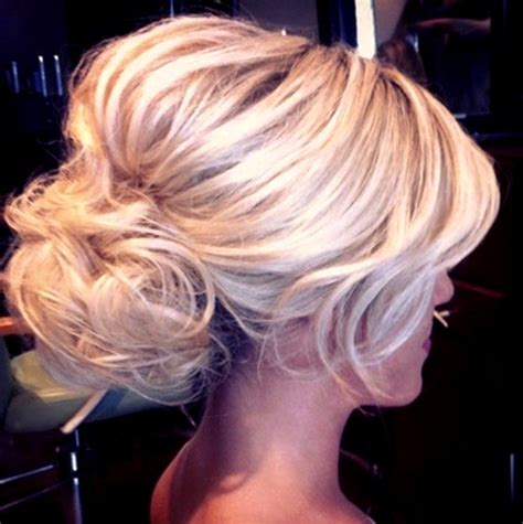bouffant wedding hairstyle hairstyles weekly wedding hair low bun bouffant wedding pinterest