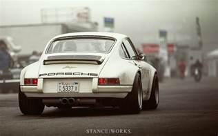 Porsche Works Stance Works Singer Porsche Desktop Wallpaper
