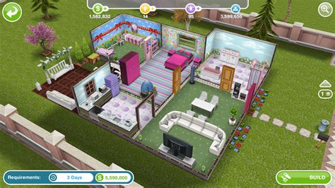 player designed house sims freeplay walkthrough house