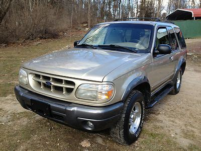 auto air conditioning service 2000 ford explorer sport instrument cluster sell used auto transmission 4x4 awd 2 dr clean low miles air conditioning leather cheap in port