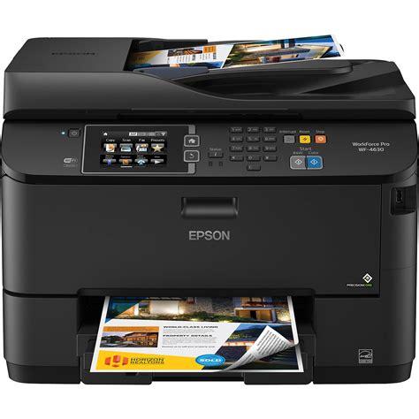 www epson epson workforce wf 4630 wireless color all in one