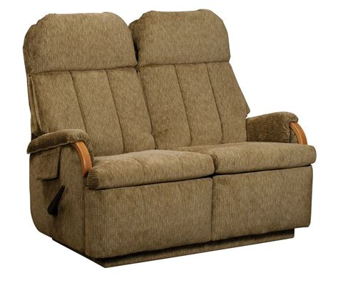 rv double recliner lambright relaxor loveseat recliner glastop inc