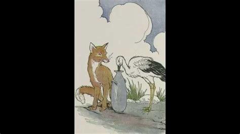 la la la testo la volpe e la cicogna