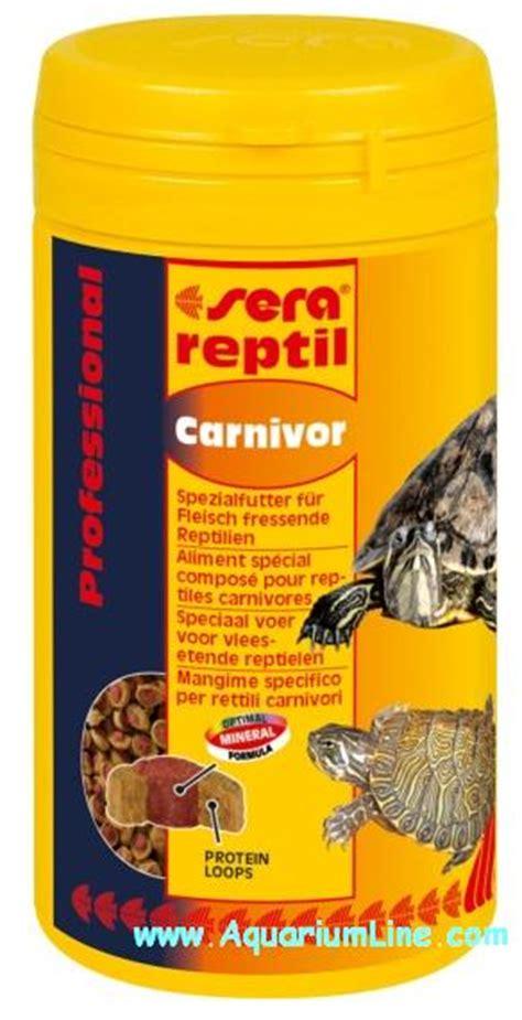 lada uv per tartarughe acquatiche sera reptil professional carnivor 250ml aquariumline