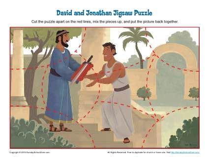 david  jonathan bible activities images