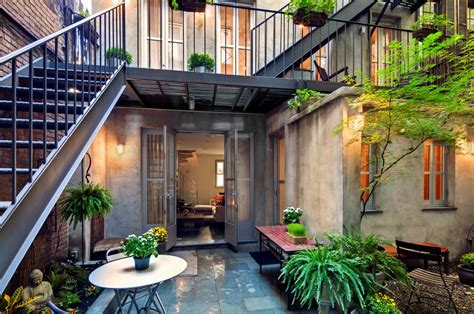 east house east village carriage house with modernist interiors