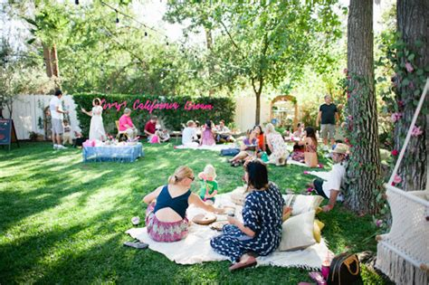 backyard 1st birthday party ideas california dream 1st birthday for livy kids birthday