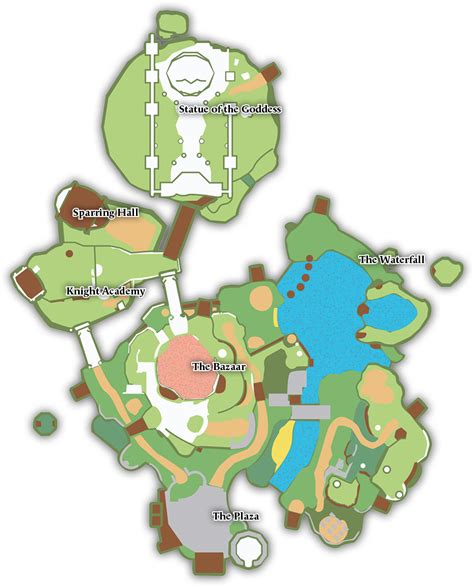 legend of zelda skyloft map skyloft knight academy oc video game roleplay and