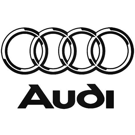 Aufkleber Audi Ringe by Audi Rings Sticker