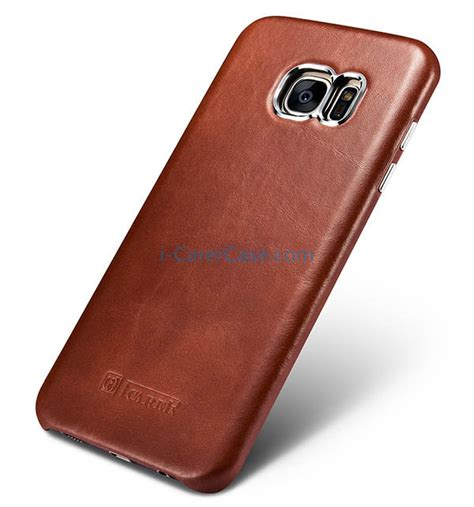 Bob Series Samsung Galaxy S7 Edge Leather Cover Usams icarer samsung galaxy s7 edge vintage back cover series genuine leather