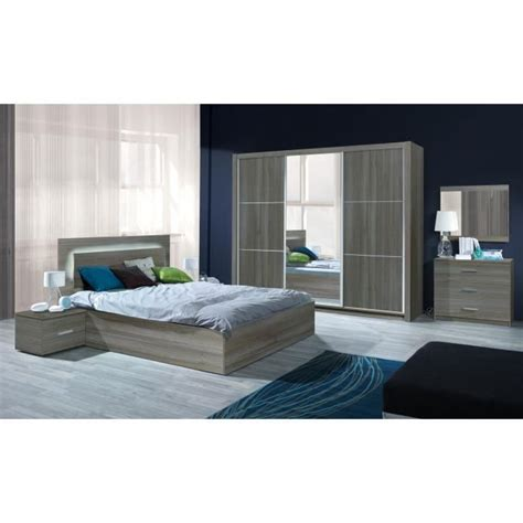 chambre adulte complete stunning armoire chambre adulte cdiscount gallery