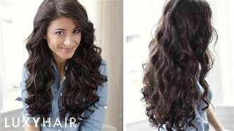 how to sexy curls hair tutorial youtube