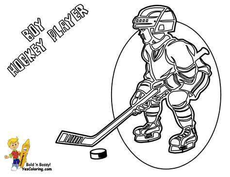 Hat Trick Hockey Coloring Sheets Free Hockey Players Free Hockey Coloring Pages