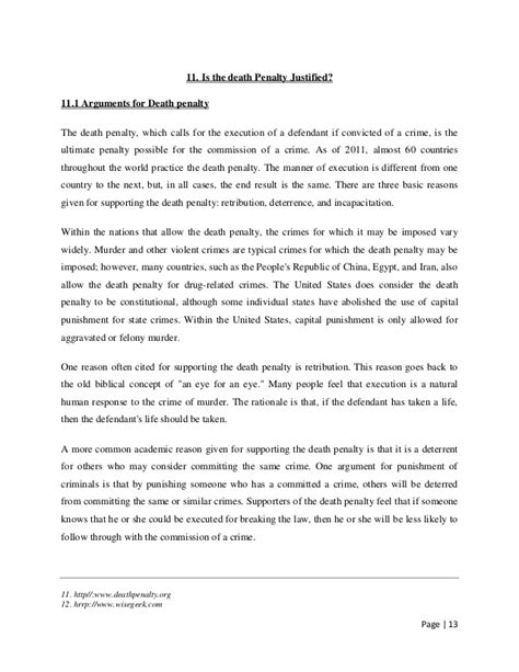 Persuasive Essay On The Penalty by Sle Argumentative Essay On Penalty