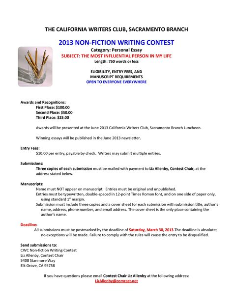 Laws Of Essay Contest Mankato Mn by Writers From Sacramento California