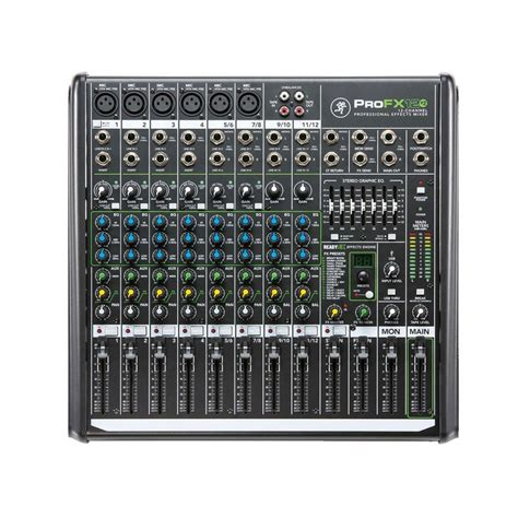 Mixer Cina 12 Chanel mackie profx12ii 12 channel mixer with fx