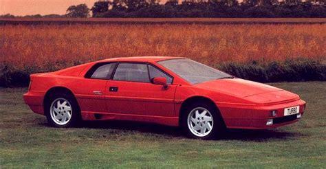 how to sell used cars 1988 lotus esprit auto manual lotus esprit turbo 1988 history