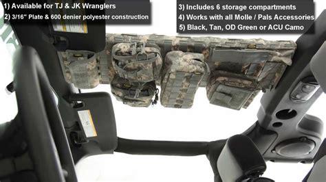 smittybilt gear overhead console for jeep wrangler