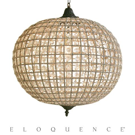 Large Globe Chandelier Eloquence Large Globe Chandelier Kathy Kuo Home