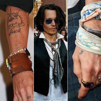 johnny depp tattoo unterarm 19 best johnny depp mangles images on pinterest celebs