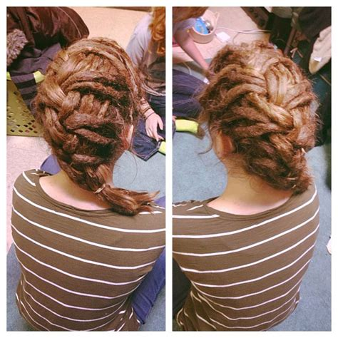 Dreadlocks, dreads, updo, hairstyle, French braid   Dreadlockss. :)   Pinterest   Dreadlocks