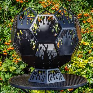 Custom Fire Pits - geodesic globe fire pit dd metal products limited