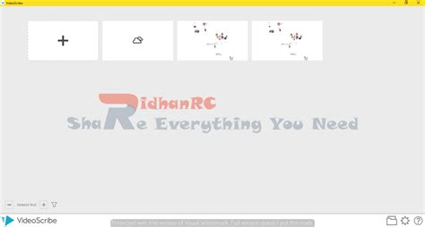 tutorial membuat video dengan videoscribe ridhan rc sparkol videoscribe 2 3 0 full version