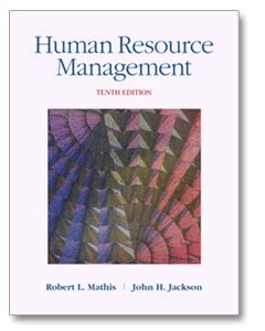 Mba Human Resource Management International by Mathis Choose Your Book Page