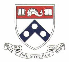 upenn colors seals and arms of the of pennsylvania