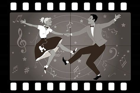 swing dance time signature swing dancing clip art vector images illustrations istock