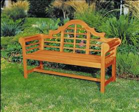 lutyens eucalyptus wood bench outdoor bench