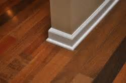 Hardwood Floor Molding How To Install Baseboard And Shoe Molding For Hardwood Floors One Project Closer