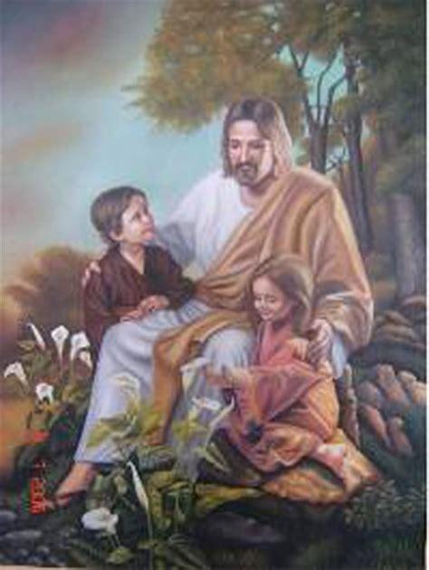 imagenes de jesus bendice a los niños el maestro jes 250 s y los ni 241 os acci 243 n por la unidad