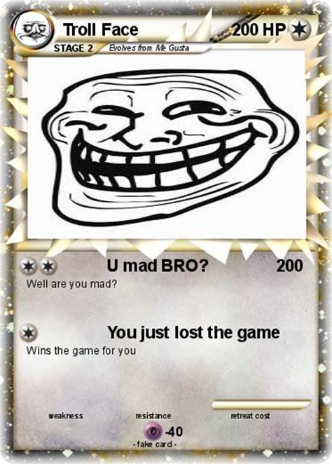 Troll Face Meme Generator - image gallery mad bro troll face