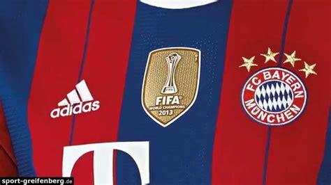 Trikot Fc Bayern 2014 2407 by Fc Bayern Trikot 2014 2015 Home Club Wm Badge