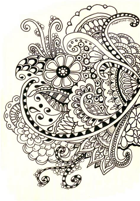 draw doodle decorate henna designs drawing search school