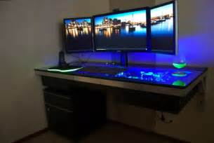 Gaming Desk Plans Gaming Computer Desk Designs Plushemisphere